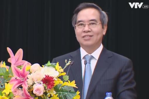 Đồng chí Nguyễn Văn Bình làm việc với Đảng bộ Khối Doanh nghiệp Trung ương