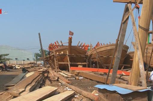Bình Định: Tàu cá đóng mới giảm gần một nửa