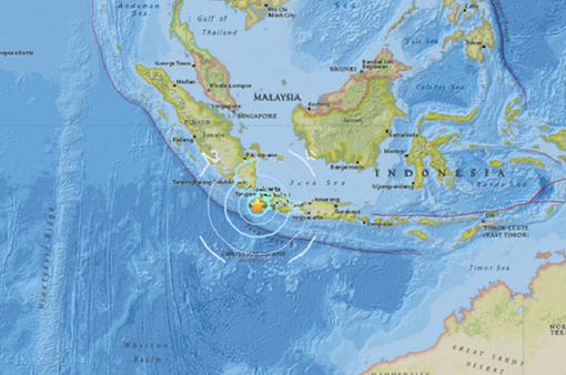 Động đất mạnh 6,4 độ richter làm rung chuyển thủ đô Indonesia