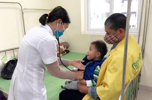 Hải Dương: Gia tăng trẻ nhập viện vì cúm A