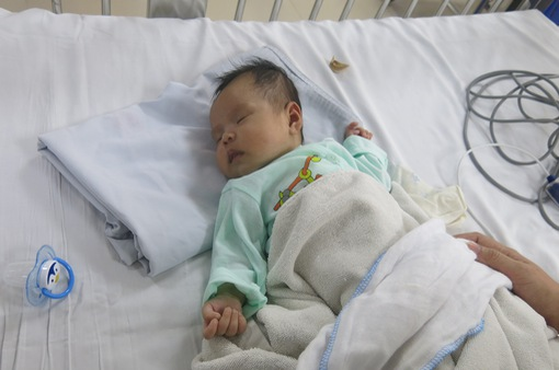 Sự hồi sinh của bệnh nhi tim bẩm sinh 2 tháng tuổi