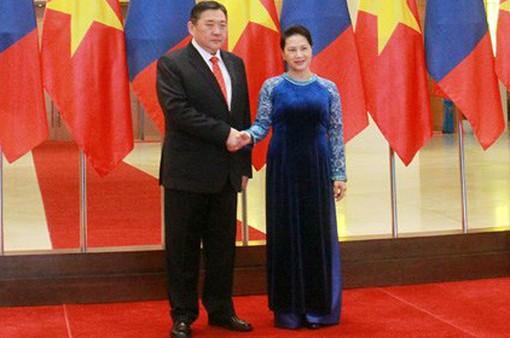 Việt Nam luôn coi trọng phát triển quan hệ hợp tác hữu nghị với Mông Cổ