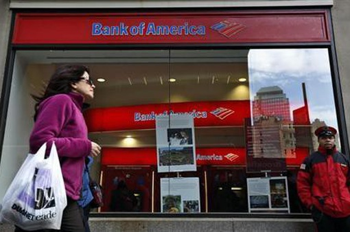 4 ngân hàng lớn nhất Mỹ mất 1 tỷ USD tiền cho vay