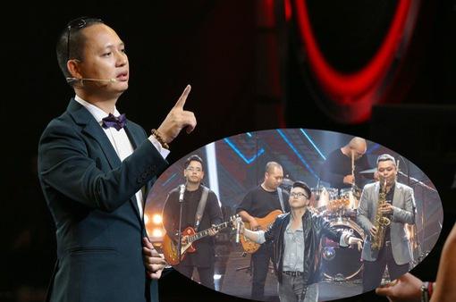 """Đức Trí bị đàn em nghi ngờ khả năng huấn luyện trong """"Ban Nhạc Việt"""""""