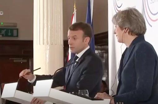 Tổng thống Pháp thăm Anh