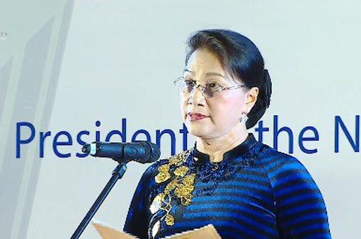 Chủ tịch Quốc hội chủ trì tiệc chiêu đãi chính thức các đoàn tham dự APPF-26