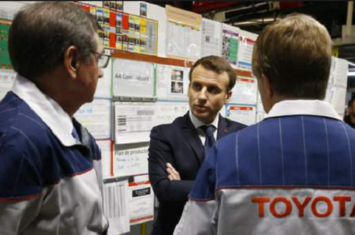 Tổng thống Pháp gặp gỡ lãnh đạo 140 công ty đa quốc gia nhằm thu hút đầu tư