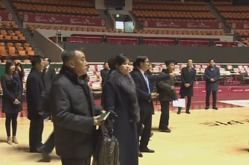Đội tiền trạm Triều Tiên rời Hàn Quốc
