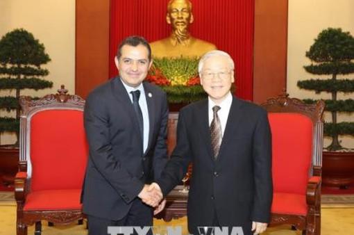 Tổng Bí thư tiếp Chủ tịch Thượng viện Mexico