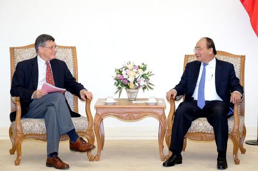 Thủ tướng Nguyễn Xuân Phúc tiếp các Giáo sư Đại học Harvard, Hoa Kỳ