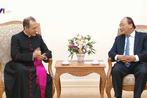 Thủ tướng Nguyễn Xuân Phúc tiếp Thứ trưởng Bộ Ngoại giao Tòa thánh Vatican