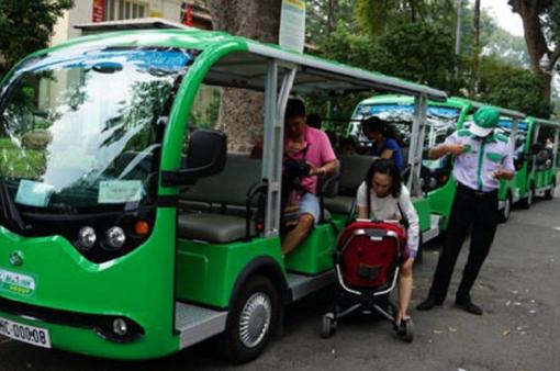 Đề xuất cho 7 tỉnh sử dụng xe điện 4 bánh phục vụ du lịch