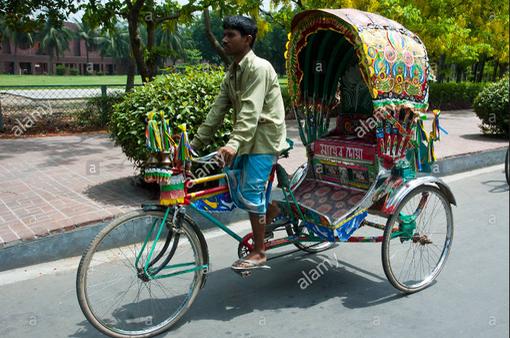Xe lôi truyền thống tại Bangladesh đối mặt với lệnh cấm