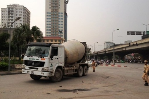 Hà Nội đề xuất cấm xe tải trong dịp Tết Nguyên đán