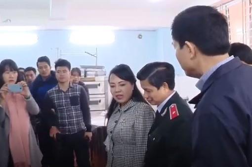 Bộ Y tế kiểm tra an toàn thực phẩm tại Hà Nội