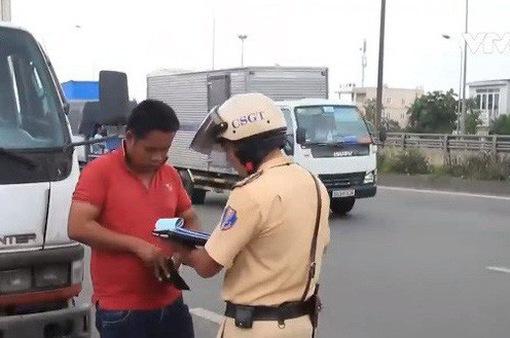 Người vi phạm giao thông nộp phạt chỉ cần thiết bị có kết nối mạng Internet