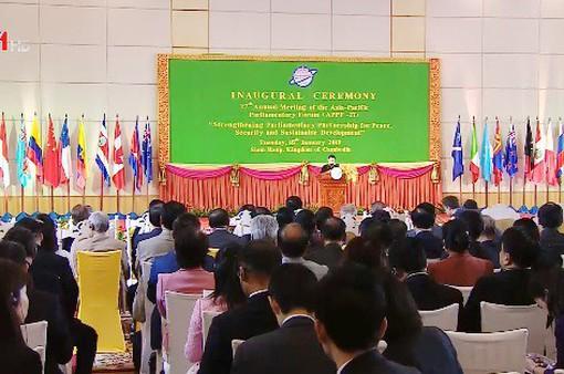 Khai mạc Diễn đàn Nghị viện châu Á - Thái Bình Dương lần thứ 27