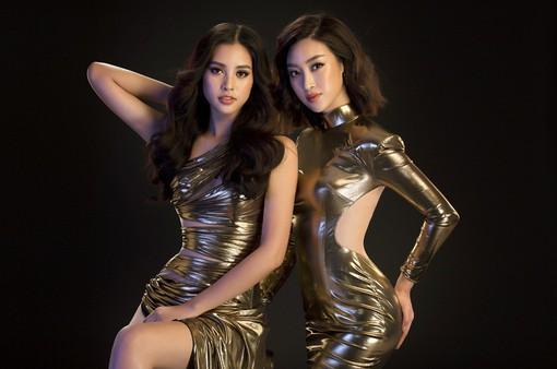 """Hoa hậu Mỹ Linh, Tiểu Vy đọ dáng khoe vẻ đẹp """"một 9 một 10"""""""