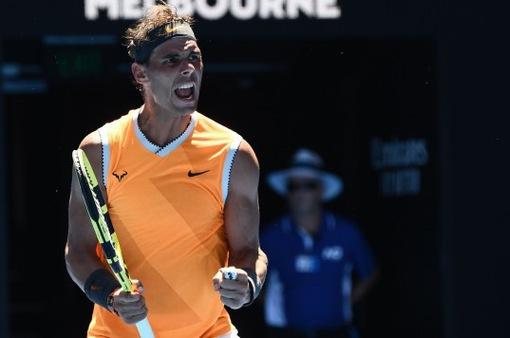 Vòng 2 Australia Mở rộng 2019: Nadal thắng nhàn Ebden