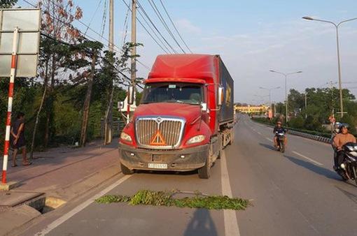 Liên tiếp xảy ra hai vụ tai nạn giao thông liên quan tới xe container
