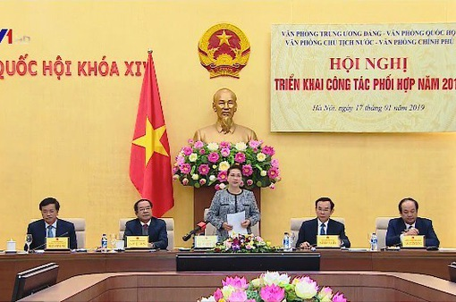 4 Văn phòng Trung ương tăng cường phối hợp công tác