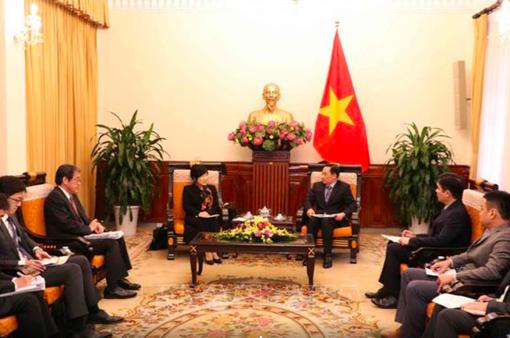Nhật Bản mong muốn thúc đẩy quan hệ hợp tác thực chất và hiệu quả với Việt Nam