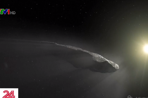 Thiên thạch Oumuamua có thể là tàu vũ trụ của người ngoài hành tinh