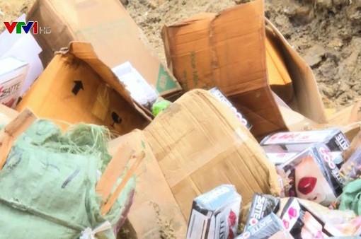Phú Yên: Tiêu hủy 7.000 sản phẩm hàng giả, hàng kém chất lượng