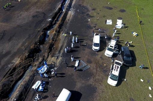 Số người thiệt mạng do nổ đường ống nhiên liệu ở Mexico tiếp tục tăng cao