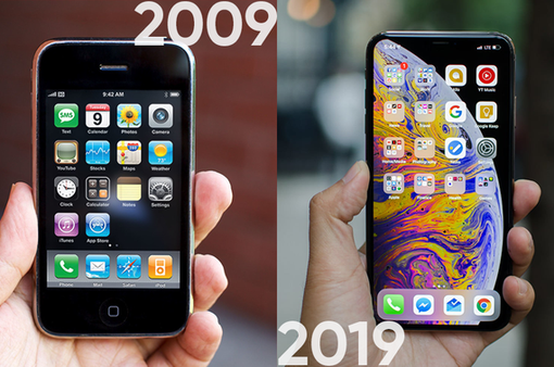 Nhìn lại 10 năm của Apple theo trào lưu #10yearschallenge