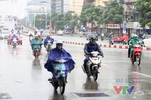 Khu vực Thanh Hóa đến Quảng Ngãi giảm nhiệt, trời chuyển mưa