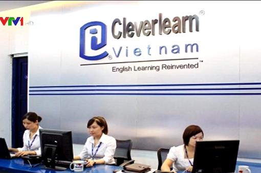 Đình chỉ hoạt động Trung tâm Anh ngữ Cleverlearn Việt Nam