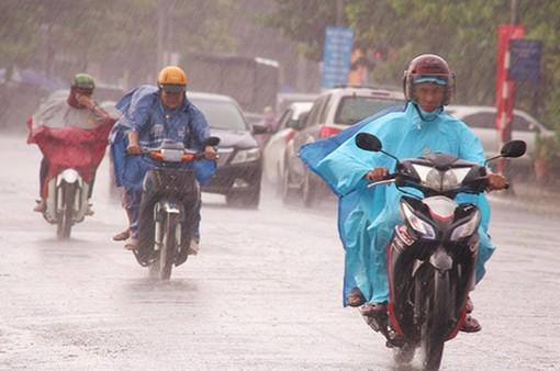 Ngày 22/1, mưa ẩm tiếp diễn từ Thanh Hóa - Bình Định