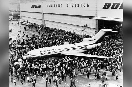Máy bay phản lực Boeing 727 thực hiện chuyến bay thương mại cuối cùng