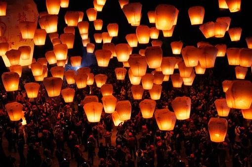 Rực rỡ lễ hội đèn lồng thường niên tại Trung Quốc