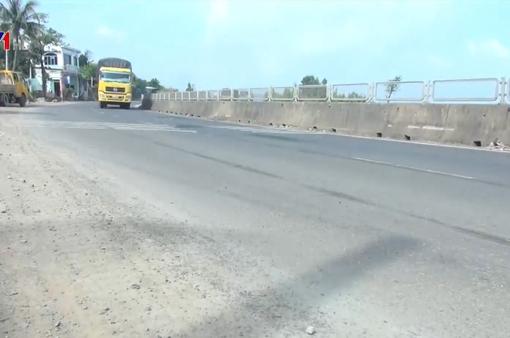Hoàn thành khắc phục hư hỏng trên quốc lộ 1