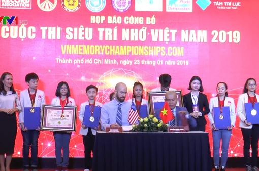 Lần đầu tiên tổ chức cuộc thi siêu trí nhớ tại Việt Nam