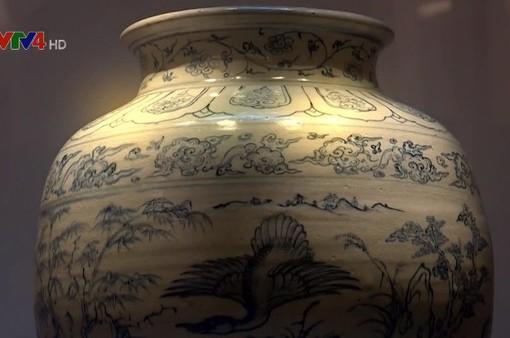 Gốm Chu Đậu, câu chuyện hồi sinh của một dòng gốm