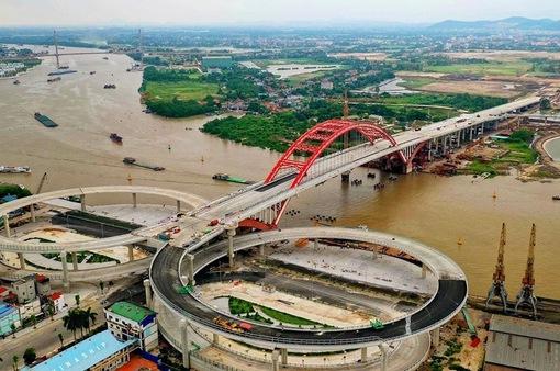 Chính thức thông xe cầu Hoàng Văn Thụ ở Hải Phòng