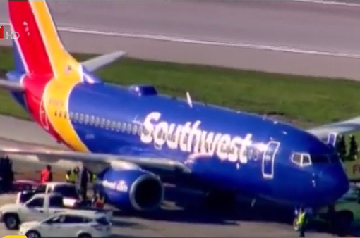 Máy bay của Southwest gặp sự cố khi hạ cánh