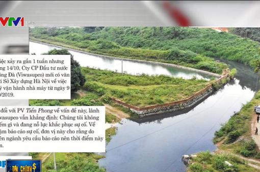 Biết nước sạch sông Đà bị nhiễm dầu mà vẫn cấp cho dân: Quá liều!