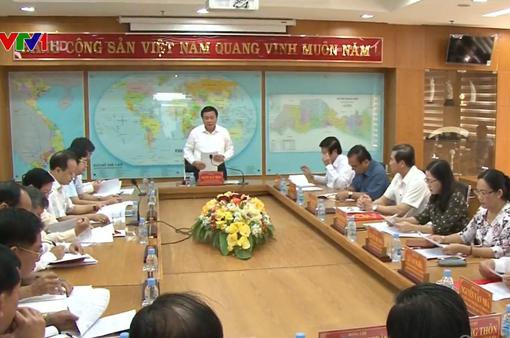Kiểm tra việc thực hiện Nghị quyết Trung ương 4 Khóa XII tại Tiền Giang và Long An