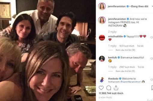 Vừa tham gia Instagram, Jennifer Aniston đã lập kỷ lục