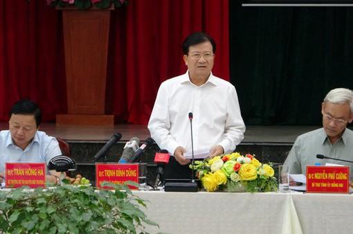 Phó Thủ tướng: Đầu năm 2021 phải khởi công sân bay Long Thành
