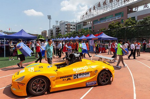 Trung Quốc mở trường dạy đua ô tô