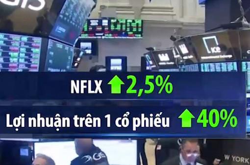 Cổ phiếu Netflix tăng mạnh sau báo cáo kinh doanh tích cực