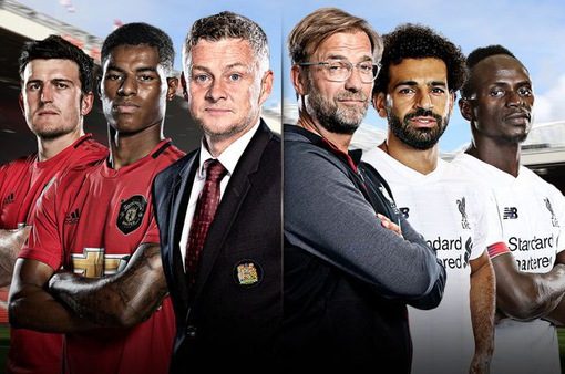 Lịch trực tiếp bóng đá Ngoại hạng Anh vòng 9: Nóng bỏng derby kinh điển Man Utd – Liverpool