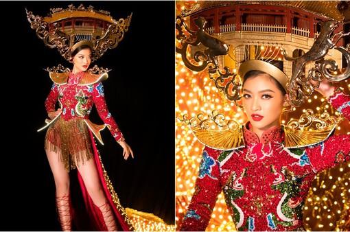 Lộ diện quốc phục của Á hậu Kiều Loan tại Miss Grand International 2019