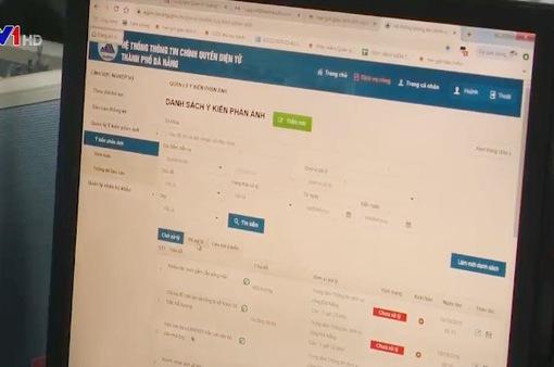 Đà Nẵng: Hiệu quả việc tiếp nhận thông tin người dân qua ứng dụng