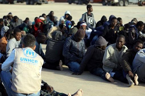 Hải quân Libya cứu gần 200 người di cư trên biển